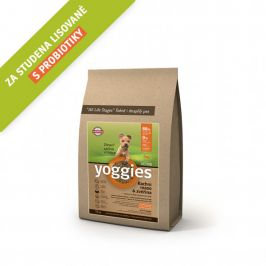Yoggies MINI Active kachna a zvěřina 4 kg