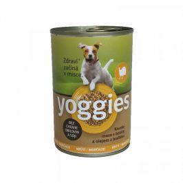 Yoggies krůtí konzerva s batáty a bodlákovým olejem 400 g