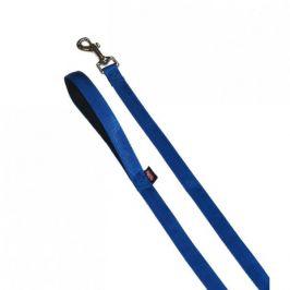 Vodítko nylon soft Grip 120 cm/15 mm modré