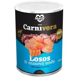 MARTY konz. ProCarnivora losos+směs 400 g