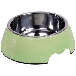Nerez miska v pouzdře Nobly Paw zelená 700 ml