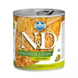 N&D Low Grain Adult Boar & Apple 285 g