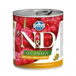 N&D Quinoa Skin&Coat Quail & Coconut 285g