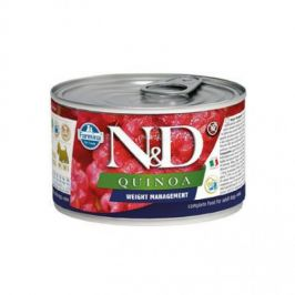 N&D Quinoa Weight Management Lamb & Brocolli Mini 140 g