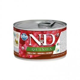 N&D Quinoa Skin&Coat Venison & Coconut Mini 140 g