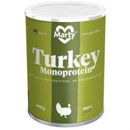 MARTY konz. Monoprotein krůtí 400 g