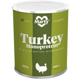 MARTY konz. Monoprotein krůtí 800 g
