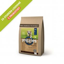 Yoggies Kozí maso a zelenina 1,2 kg