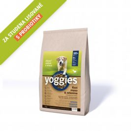 Yoggies Kozí maso a zelenina 4 kg