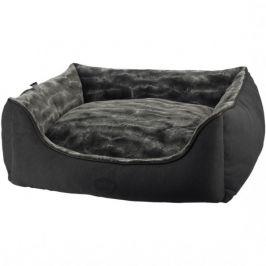 Obdelníkový pelíšek DIAN tmavě šedý 120x95x26 cm