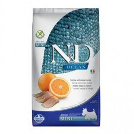 N&D Ocean Adult Mini Herring & Orange 2,5 kg