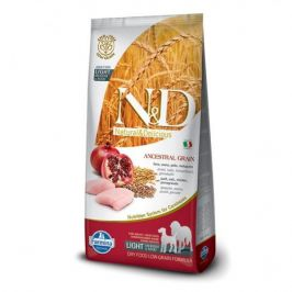 N&D Low Grain Adult Light M/L Chicken & Pomegranate 12 kg