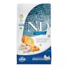 N&D Ocean Adult Mini Codfish & Pumpkin & Orange 800 g