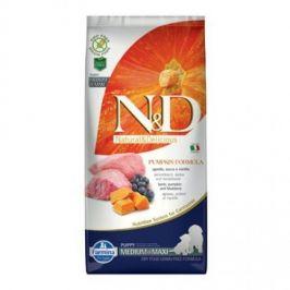 N&D Grain Free Pumpkin Puppy M/L Lamb & Blueberry 12 kg
