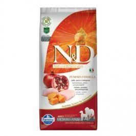 N&D Grain Free Pumpkin Adult M/L Chicken & Pomegranate 12 kg