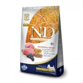 N&D Low Grain Adult Mini Lamb & Blueberry 7 kg