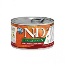 N&D Pumpkin Puppy Chicken & Pomegranate Mini 140 g