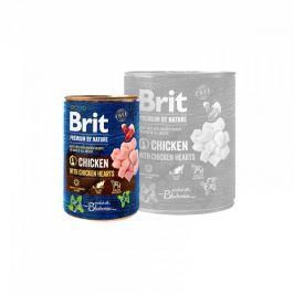 Brit Premium by Nature konz. Chicken & Hearts 400 g