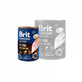Brit Premium by Nature konz. Fish & Fish Skin 400 g