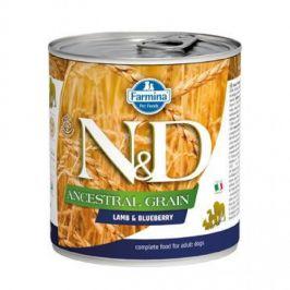 N&D Low Grain Adult Lamb & Blueberry 285 g