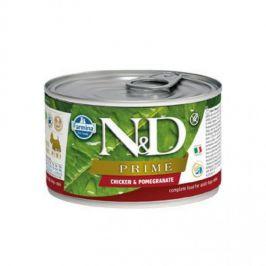 N&D Prime Adult Chicken & Pomegranate Mini 140 g