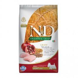 N&D Low Grain Adult Mini Light Chicken & Pomegranate 2,5 kg