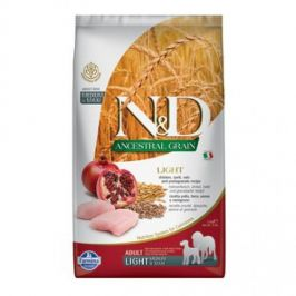 N&D Low Grain Adult Light M/L Chicken & Pomegranate 2,5 kg