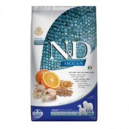 N&D Low Grain Ocean Adult M/L Codfish & Orange 2,5 kg