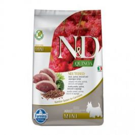 N&D Quinoa Neutered Adult Mini Duck&Broccoli 2,5 kg