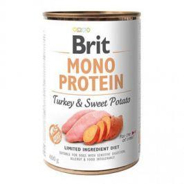 Brit konz. Mono Protein Turkey & Sweet Potato 400 g