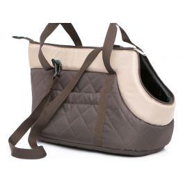 Vsepropejska Nice hnědo-béžová taška pro psa Dle váhy psa: do 2 kg