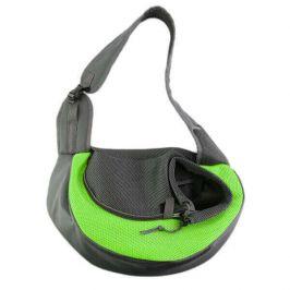 Vsepropejska Travel zelená taška pro psa přes rameno Dle váhy psa: do 2 kg