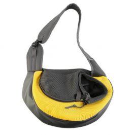 Vsepropejska Travel žlutá taška pro psa přes rameno Dle váhy psa: do 2 kg