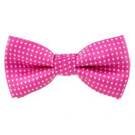 Vsepropejska Elegant růžový motýlek pro psa s puntíky | 25 - 42 cm