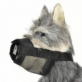 Vsepropejska Nylonový náhubek pro psa Barva: Černá, Obvod krku: S