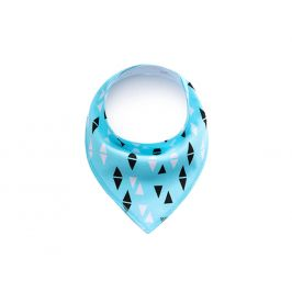 Vsepropejska Rhom světle modrý šátek pro psa