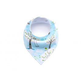 Vsepropejska Swing modrý šátek pro psa