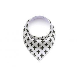 Vsepropejska Cross bílý šátek pro psa