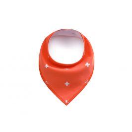 Vsepropejska Cross oranžový šátek pro psa