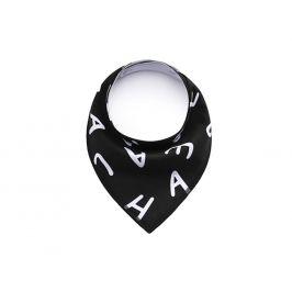 Vsepropejska Word černý šátek pro psa