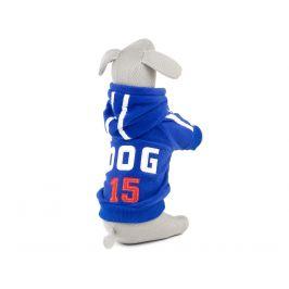 Vsepropejska Dog15 mikina pro psa Barva: Modrá, Délka zad psa: 32 cm, Obvod hrudníku: 44 - 50 cm