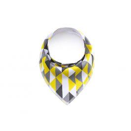 Vsepropejska Lina žluto-šedý šátek pro psa