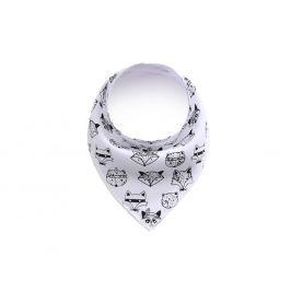 Vsepropejska Luci bílý šátek pro psa