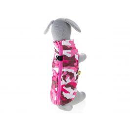 Vsepropejska Knox obleček pro psa na zip Barva: Růžová, Délka zad psa: 23 cm, Obvod hrudníku: 28 - 32 cm
