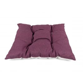 Vsepropejska Luxi fialový polštář pro psa Rozměr: 75 x 70 cm