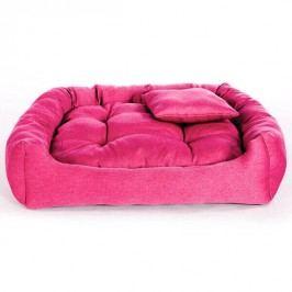 Zopet Růžový pelech pro psa Lux 55 x 45 cm