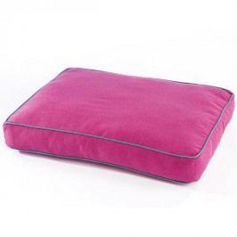 Zopet Růžová matrace pro psa s lemem 60 x 50 cm