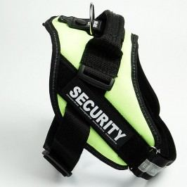 Zopet Žlutý postroj pro psa Security 40 - 50 cm
