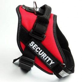 Zopet Červený postroj pro psa Security 40 - 50 cm