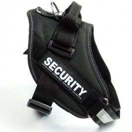 Zopet Černý postroj pro psa Security 40 - 50 cm